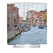 Venice In Pastel  Shower Curtain