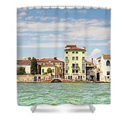 Venice In Summer  Shower Curtain