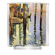 Venice Italy  Shower Curtain