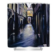 Venice Shower Curtain by James Christopher Hill