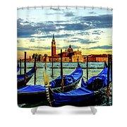 Venice Landmark Shower Curtain
