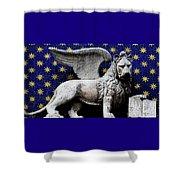 Venice Lion Shower Curtain