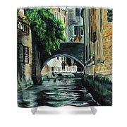 Venice Memory Shower Curtain