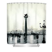 Venice October Shower Curtain