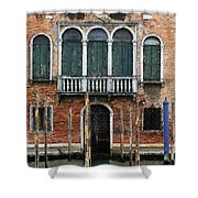 Venice Old Palace Shower Curtain by Julian Perry