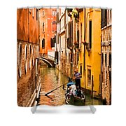 Venice Passage Shower Curtain