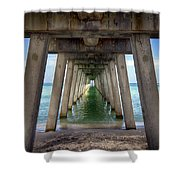 Venice Pier Shower Curtain