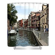 Venice Postcard Shower Curtain