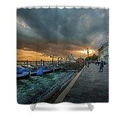 Venice Promenade Shower Curtain