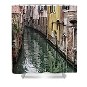 Venice - Reflections Shower Curtain