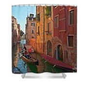 Venice Sentimental Journey Shower Curtain