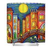 Venice Soiree Shower Curtain