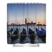 Venice - Sunset Shower Curtain