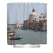 Venice The Beaufiful Shower Curtain
