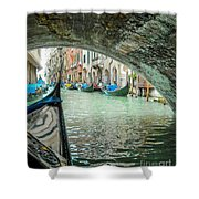 Venice Troll Shower Curtain