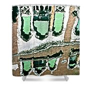 Venice Upside Down 2 Shower Curtain