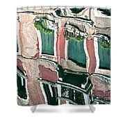 Venice Upside Down 3 Shower Curtain