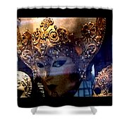 Venician Masks Shower Curtain