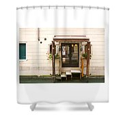 Venitian Drive Through Shower Curtain