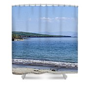 Ventry Harbor On The Dingle Peninsula Ireland Shower Curtain