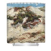 Ventura Dunes I Shower Curtain