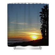 Ventura Sunset Shower Curtain