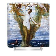 Venus Anadyomene 1872 Shower Curtain