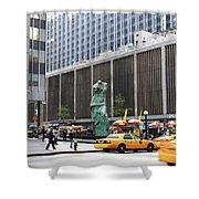 New York's Venus De Milo Shower Curtain