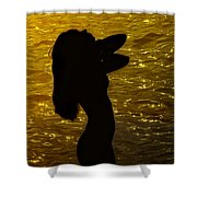 Venus Del Mare Shower Curtain