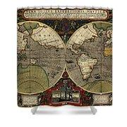 Vera Totius Expeditionis Nauticae Of 1595 Shower Curtain