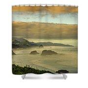 Verdant Coast Shower Curtain