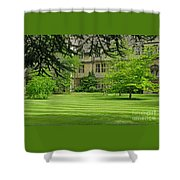 Verdant England Shower Curtain