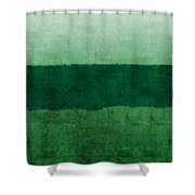 Verde Landscape 1- Art By Linda Woods Shower Curtain