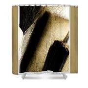 Verdict Shower Curtain