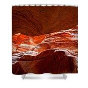 Vermilion Cliffs Abstract Shower Curtain