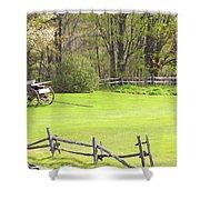 Vermont Buck Board Shower Curtain