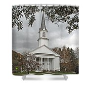 Vermont Church Shower Curtain
