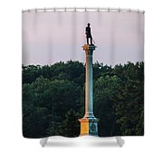 Vermont Monument Shower Curtain