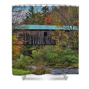 Vermont Rural Autumn Beauty Shower Curtain