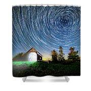 Vermont Starry Night Shower Curtain