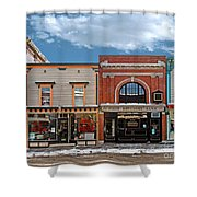 Vermont Street Scene Shower Curtain