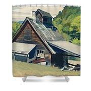 Vermont Sugar House Shower Curtain