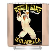 Vermouth Bianco Shower Curtain