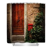 Vernazza Hideaway Shower Curtain