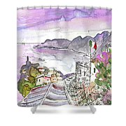 Vernazza In Italy 03 Shower Curtain