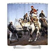 Vernet: Arabs, 1843 Shower Curtain