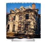 Vernon House Newport Rhode Island Shower Curtain