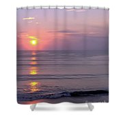 Vero - Beach -  Sunrise Shower Curtain