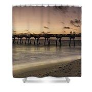 Vero Beach Sunrise Shower Curtain