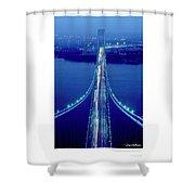 Verrazano Bridge, Ny Shower Curtain